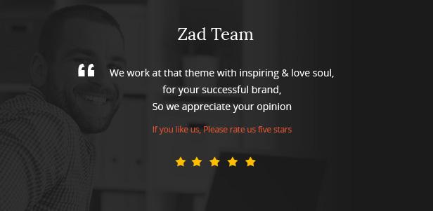 Zad | The Unique Multiuse Theme - 16