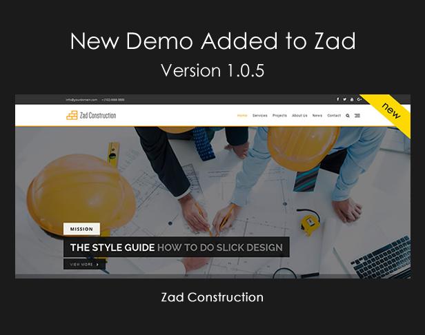 Zad | The Unique Multiuse Theme - 7