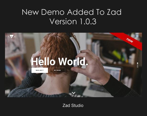 Zad | The Unique Multiuse Theme - 9